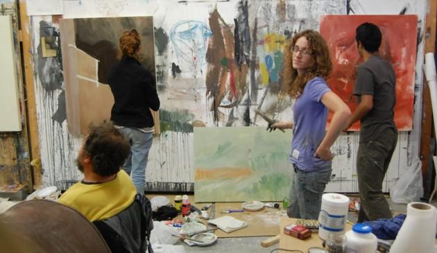 L artista paolo dolzan e i giovani dell for Accademia arte milano