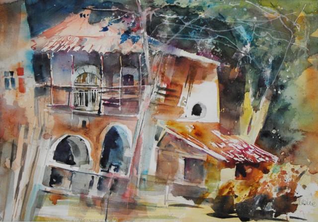 Reinhard ploner artista che ama for Disegni di bungalow contemporanei