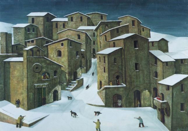 www.ladigetto.it - «Naïf. Solitudini di colore», Casa degli Artisti di Canale di Tenno