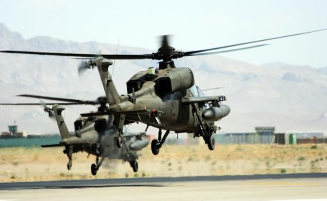 Elicottero Quattro Posti : Ladigetto i «mangusta di herat hanno compiuto
