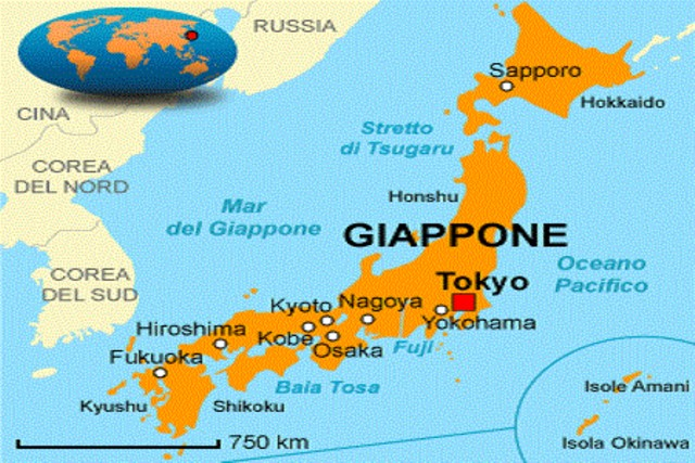 Il Giappone Cartina Fisica.Www Ladigetto It Il Giappone Viaggio Nelle Tradizioni E Nella Modernita 1
