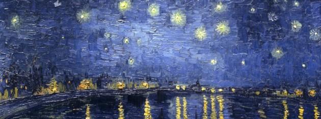 La meraviglia di una notte stellata for La notte stellata vincent van gogh