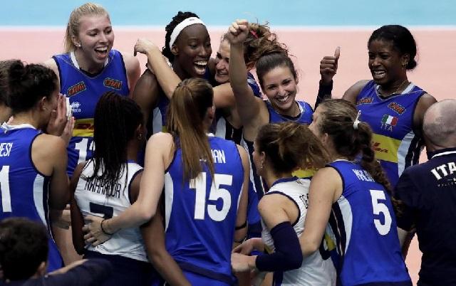 Risultati immagini per nazionale volley femminile