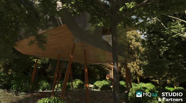 Presentato il progetto della prima casa for Planimetrie della casa sull albero