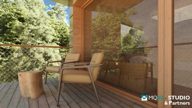 Presentato il progetto della prima casa sull albero del trentino - Casa sull albero progetto ...