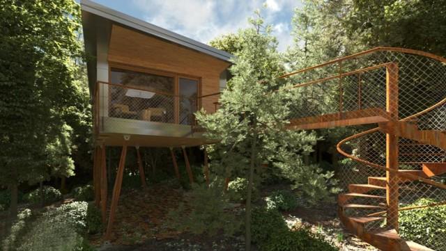 Presentato il progetto della prima casa sull albero del trentino - Tasse sull acquisto della prima casa ...